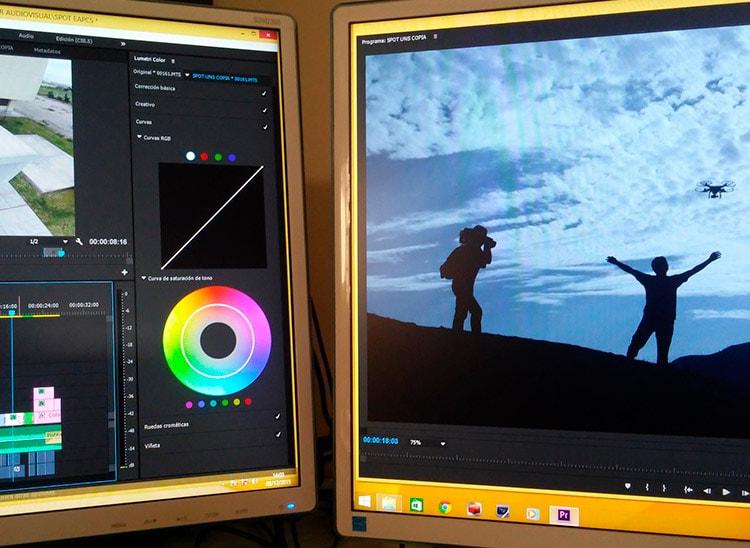 La temperatura de color en la edición de vídeos