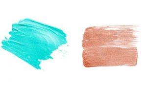 armonía de color en maquillaje