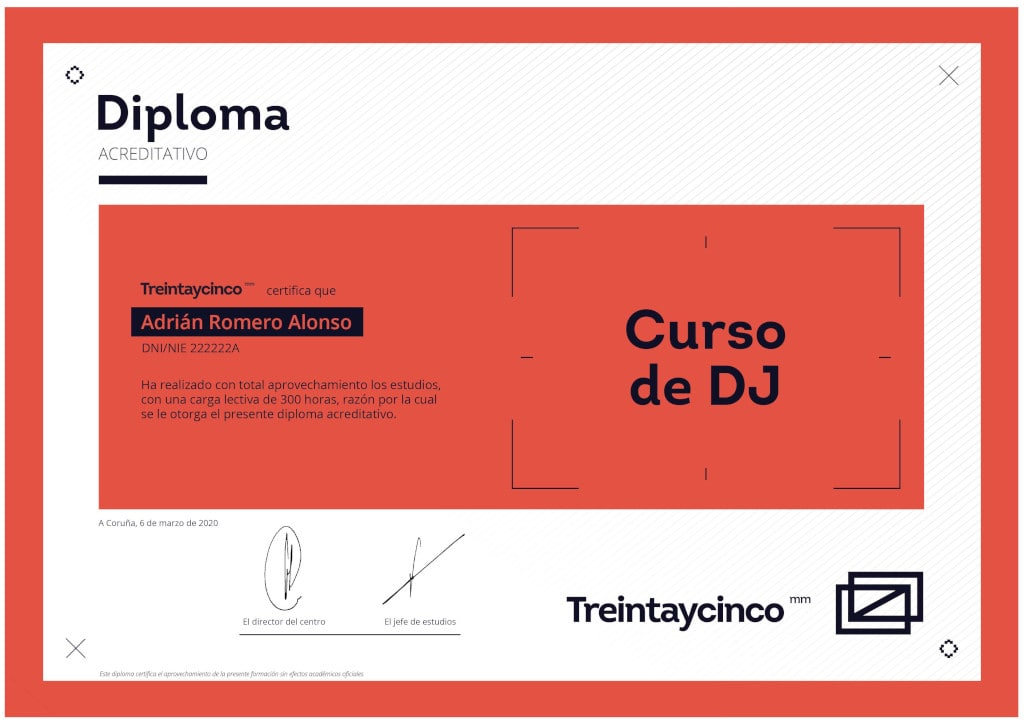 diploma DJ