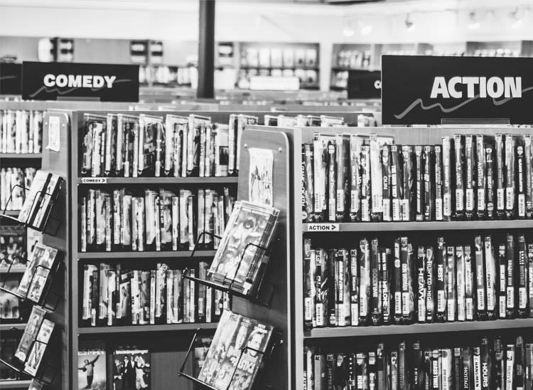 Formatos de vídeo físicos: VHS, DVD y BLURAY