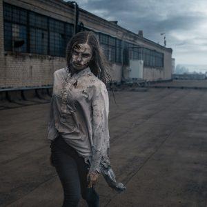 caracterización zombi - maquillaje FX