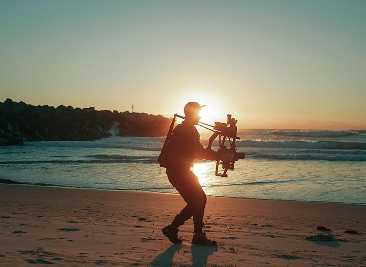 Mapas de dirección del sol y medición de luz en fotografía para el rodaje