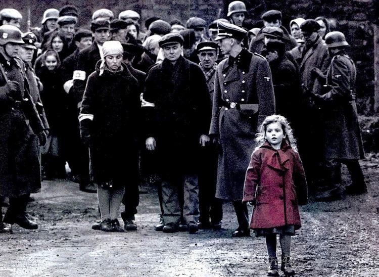 La lista de Schindler fotografía: la restricción del color