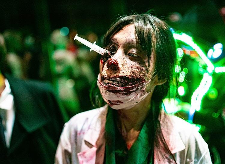 Características del maquillaje zombie