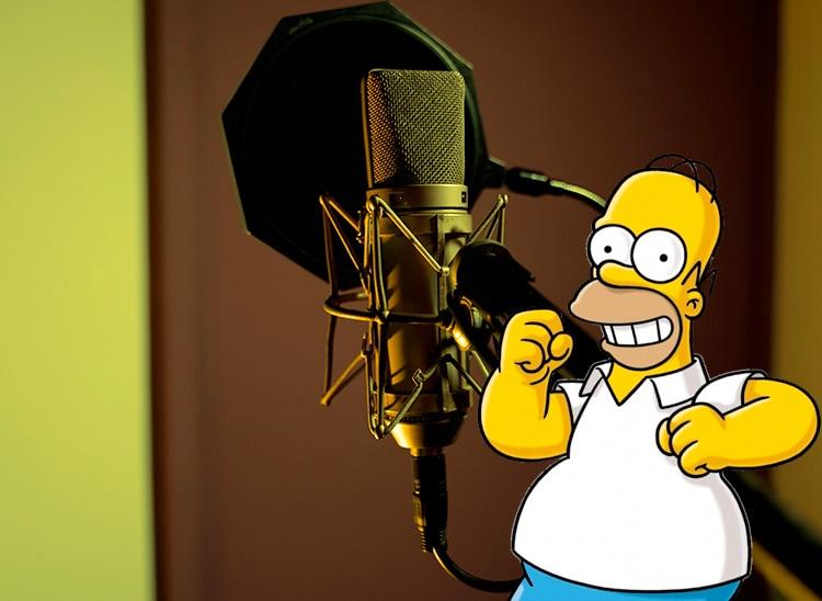 Doblaje de Homer Simpson