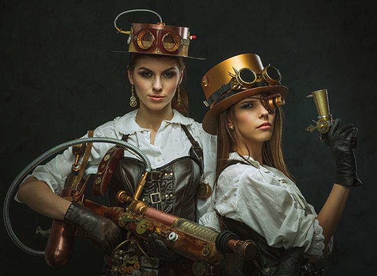 El maquillaje steampunk en el cine