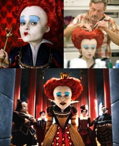 villanos del cine - la reina roja alicia en el país de las maravillas