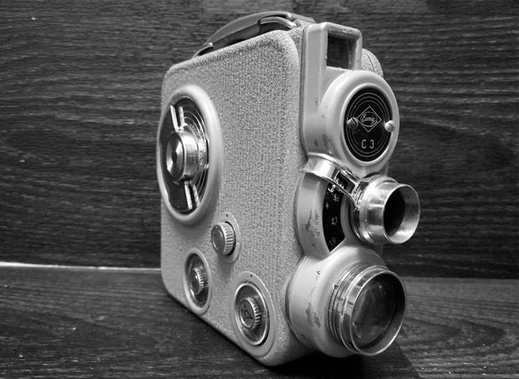 Tipos de cámaras de cine: cámara 8mm