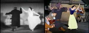 efectos especiales tradicionales Blancanieves y los siete enanitos