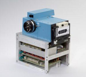 Historia de la fotografía primera cámara digital Kodak
