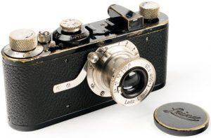 Historia de la fotografía cámara Leica