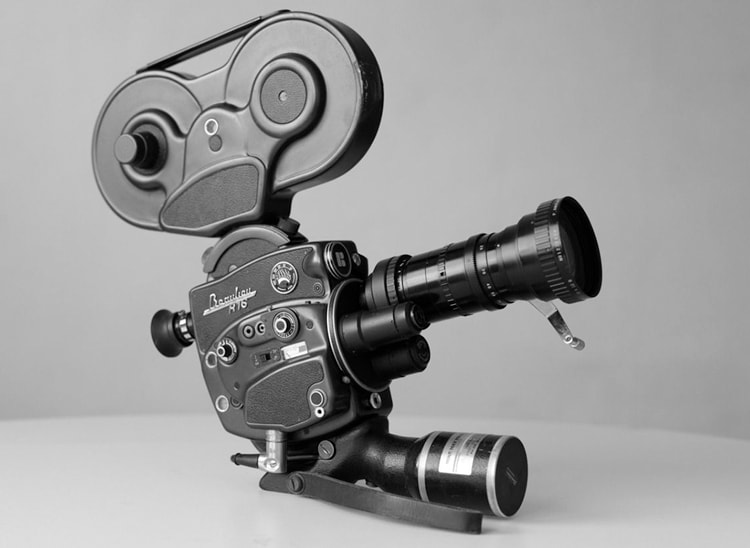 Tipos de cámaras de cine: cámara 16 mm