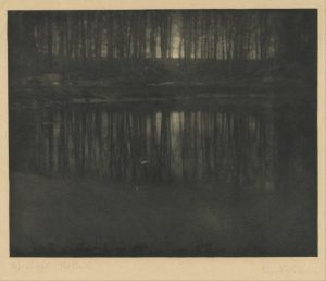 the pond edward steichen fotografía artística