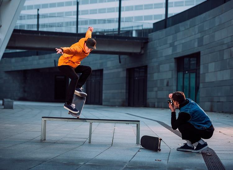 ¿Qué es la fotografía deportiva? El movimiento en una imagen