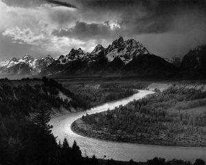 Los Tetons y el río Snake