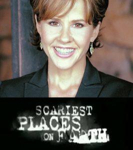 Linda Blair en el cartel de Scariest