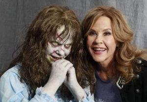 Linda Blair con ella en el Exorcista