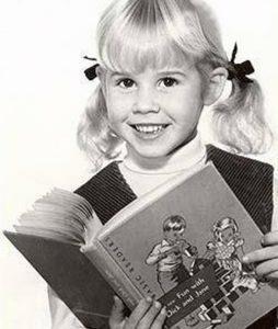 linda Blair de pequeña