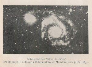 fotografía astronómica Chiens de chasse