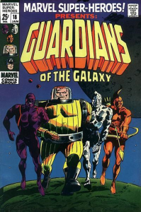 guardianes de la galaxia antiguo