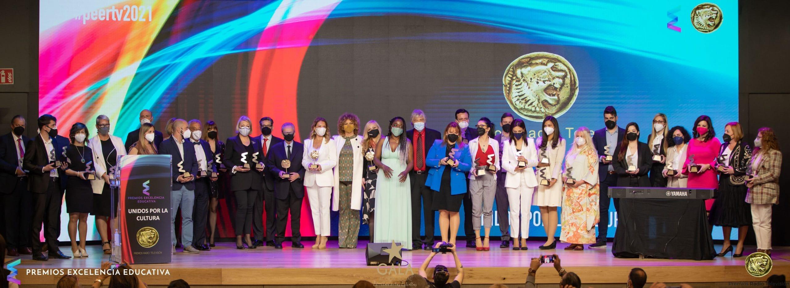 Los Premios Excelencia Educativa 2021 reconocen a 35mm como el Mejor Centro de Formación Audiovisual