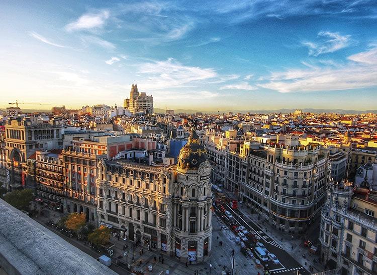 Películas rodadas en Madrid
