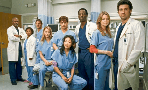 anatomía de grey series de médicos