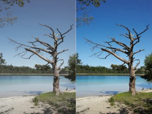 filtro fotográfico UV