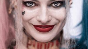 detalles faciales harley quinn maquillaje