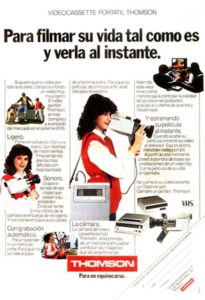 historia del videoclub - cámara super 8