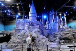 maqueta castillo hogwarts harry potter efectos especiales
