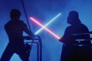 efectos star wars espada láser