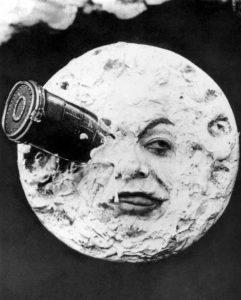 efectos especiales viaje a la luna