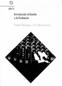 lista de libros de doblaje - grabación y sonido