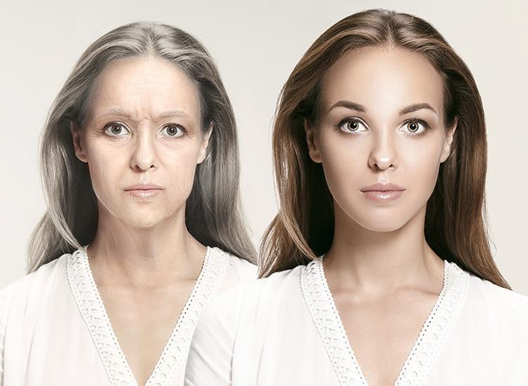maquillaje de envejecimiento técnicas
