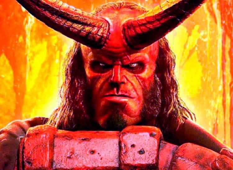 maquillaje de hellboy - maquillaje FX