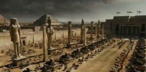 exodus dioses y reyes - rodaje almería