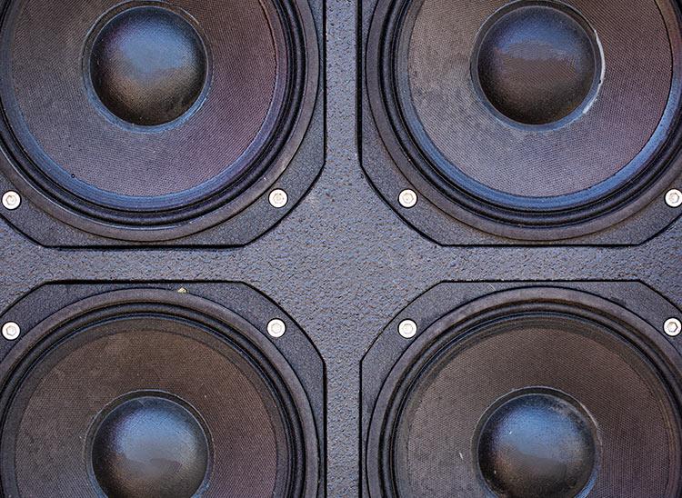 reverberación del sonido