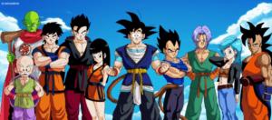 dragon ball personajes anime