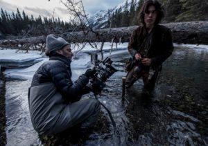 director de fotografía en un rodaje