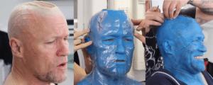 maquillaje guardianes de la galaxia