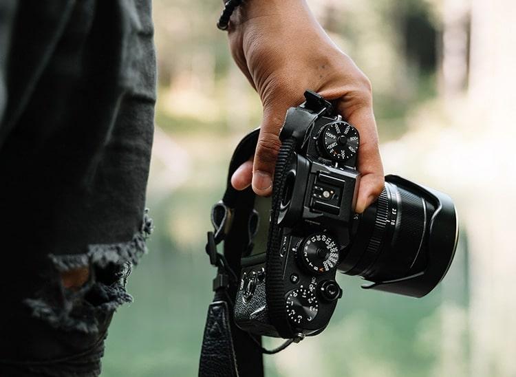 obturador cámara